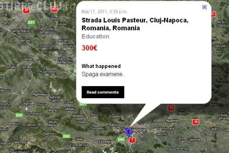 Bribespot: Spaga de 300 de euro pentru un examen la UMF Cluj! Cum comentati?