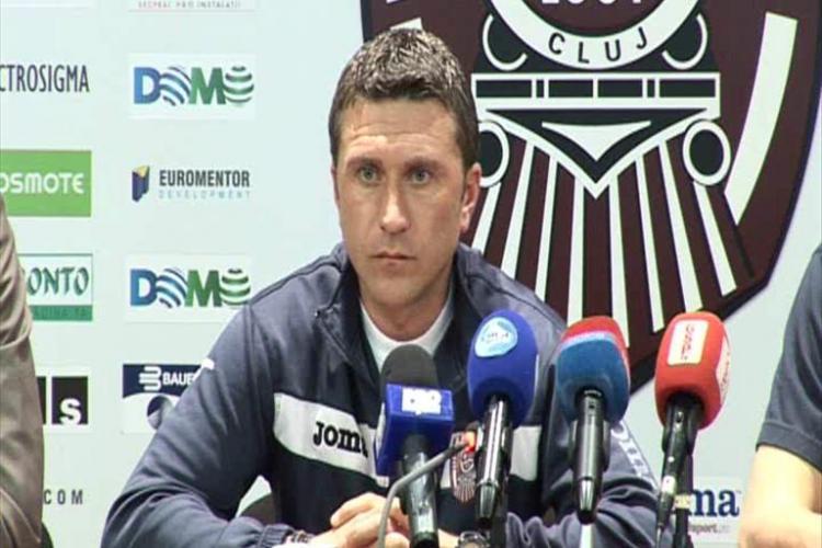 Alin Minteuan crede ca jucatorii care acuza CFR Cluj ca nu isi respecta promisiunile sunt neseriosi