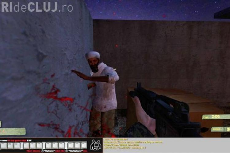 A aparut un joc pe calculator ce reproduce operatiunea in care a fost ucis Osama bin Laden