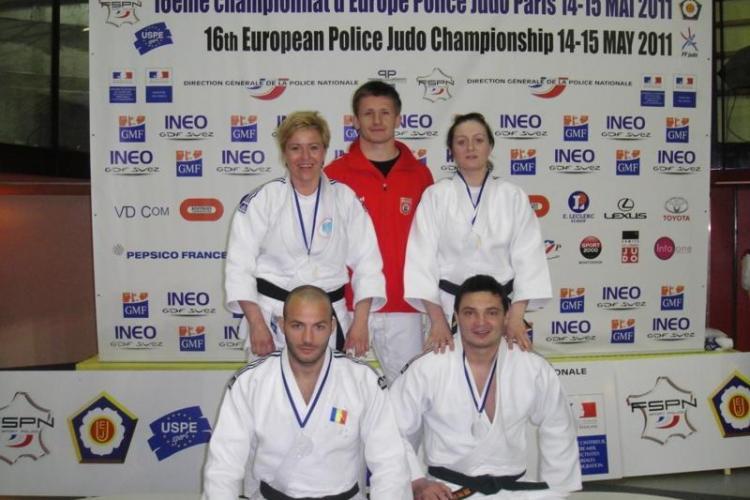 Sportiva Ioana Aluas a obtinut aurul la Campionatele Europene de Judo ale Politistilor - FOTO