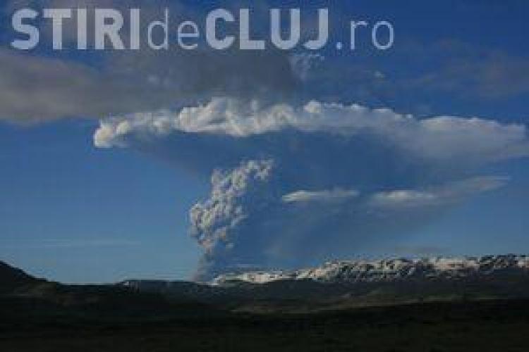Un vulcan a erupt in Islanda. Norul de fum degajat a ajuns la 11 kilometri inaltime