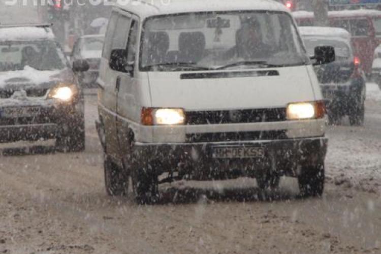 Atentie daca mergeti in Maramures sau in Suceava! Sunt probleme cu traficul din cauza zapezii!