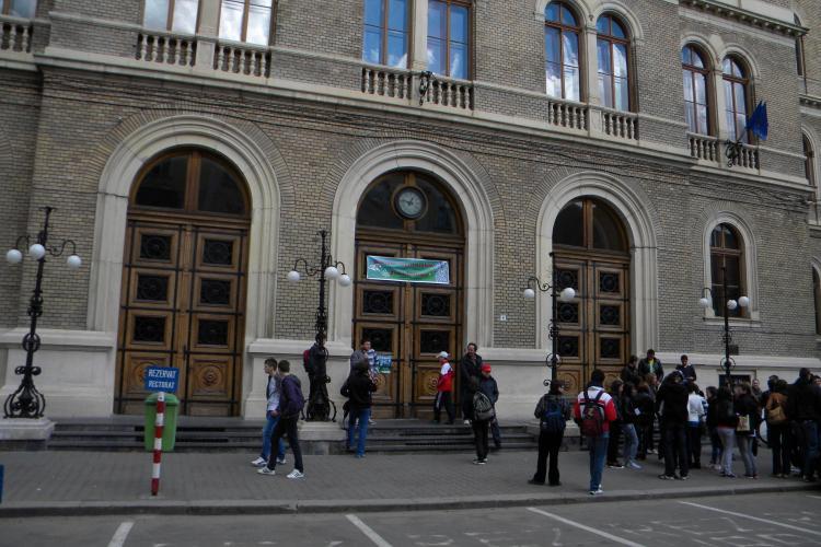 Profesorii de la UBB Cluj protesteaza fata de programul de evaluare a universitatilor
