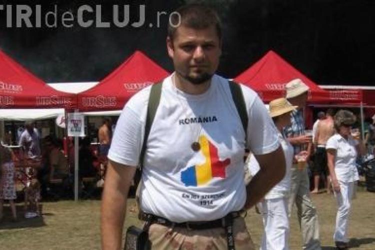 """Csibi Barna vinde tricouri cu mesajul """"Tinutul Secuiesc nu e Romania!"""""""