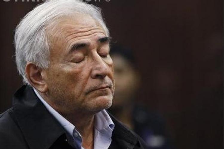 Dominique Strauss-Kahn va fi eliberat pe cautiune