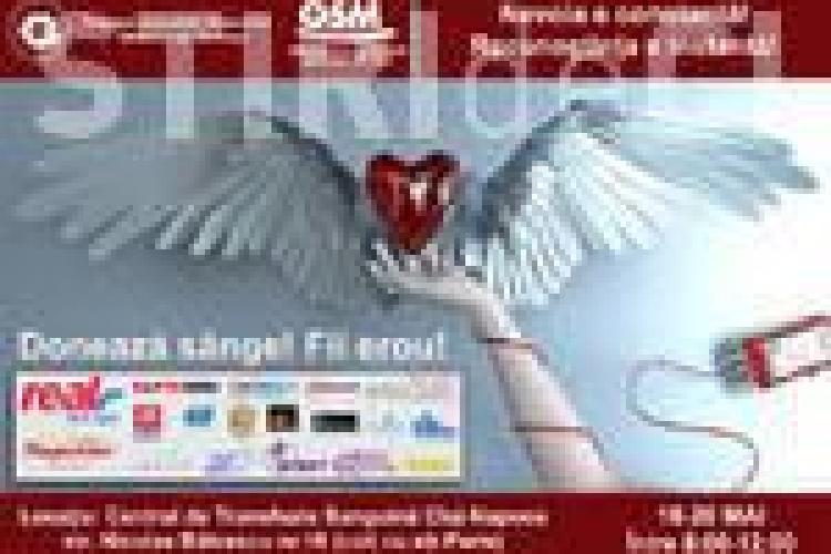 OSM Cluj organizeaza o campanie de donare de sange!
