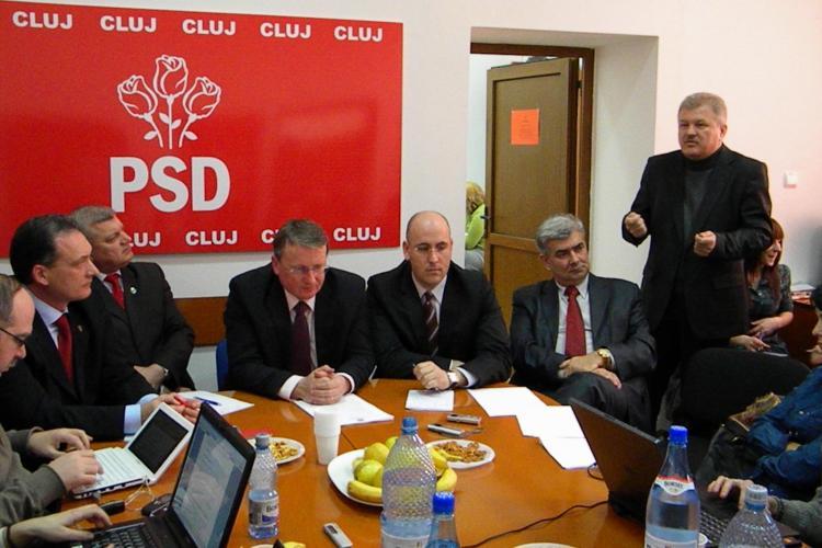 PSD Cluj: Puterea portocalie din judet nu face nimic din care sa nu castige ceva