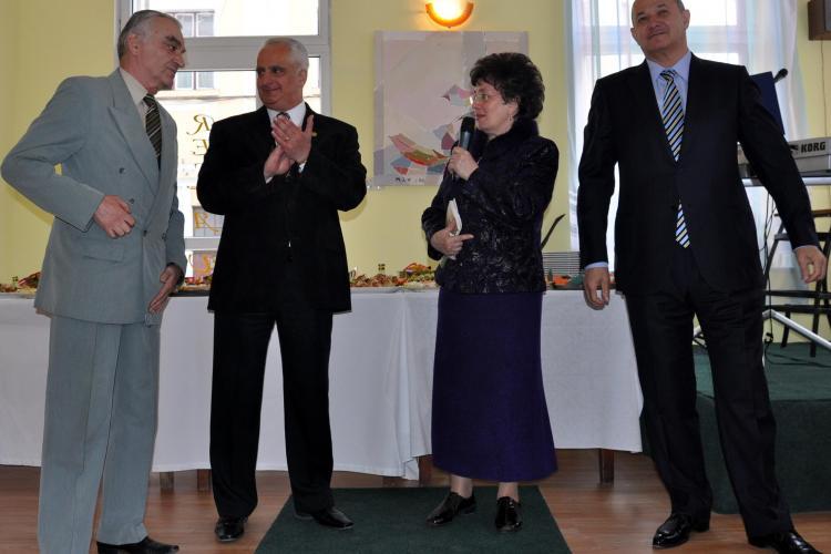 Fostul ambasador Liviu Zapartan, presedintele Clubului Ecologist Roman Cluj