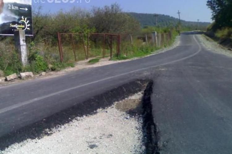 Drumuri judetene modernizate cu 372 de milioane de lei! CJ Cluj reia licitatia cu un numar redus de drumuri