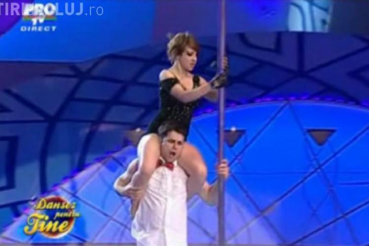 "Gabriel Coveseanu si Claudia Raea, eliminati de la ""Dansez pentru tine"" - VIDEO"
