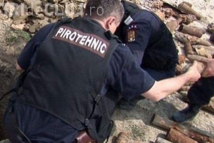 Plutonierul de la ISU Cluj, ranit in explozia de la depozitul de munitie, s-a ales cu dosar penal!
