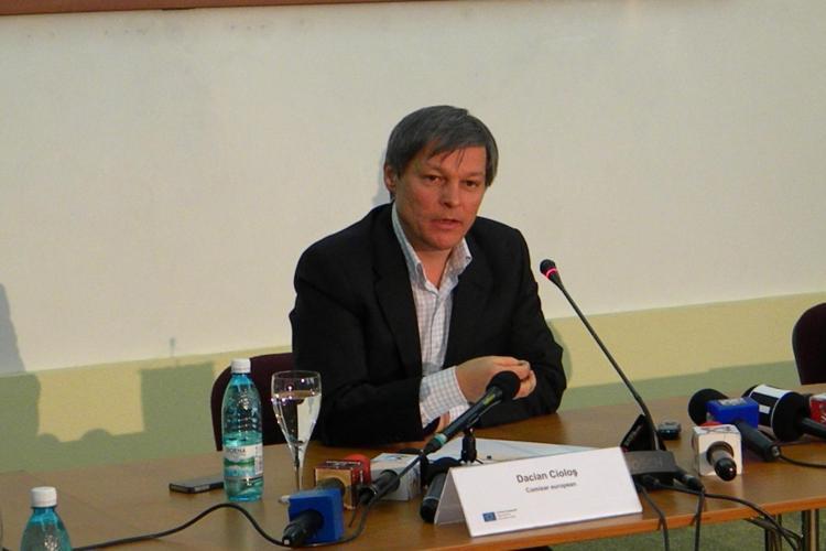 Dacian Ciolos: Romania pierde fonduri europene pentru ca functionarii ii descurajeaza pe cei care vor sa le acceseze - VIDEO