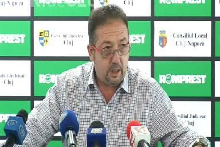 Florian Walter vrea ca U Cluj sa castige Cupa Romaniei sezonul viitor! VEZI ce loc in campionat tinteste VIDEO