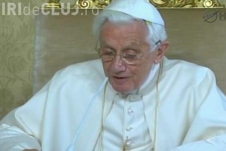 Papa Benedict al XVI-lea a discutat cu echipajul NASA aflat in spatiu VIDEO