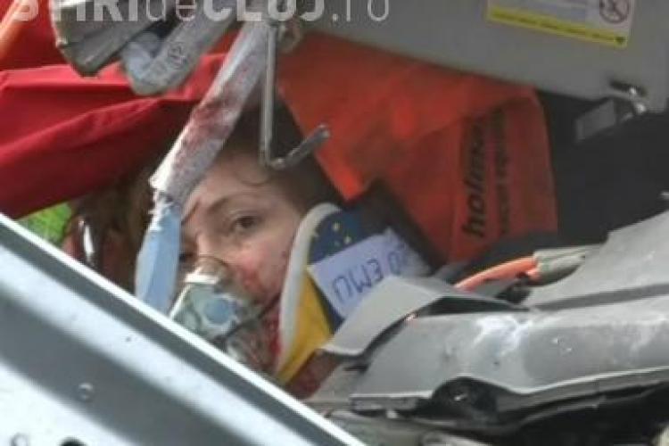 Accident in comuna Nima! Soferul unui TIR a adormit la volan si a lovit un alt autoturism IMAGINI SOCANTE VIDEO