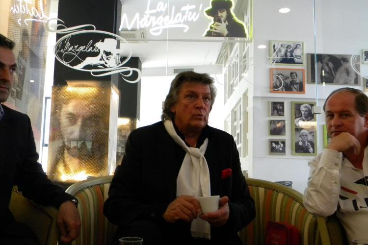 """Florin Piersic a inaugurat cafeneaua """"La Margelatu'"""" de la cinema Florin Piersic VIDEO si FOTO"""