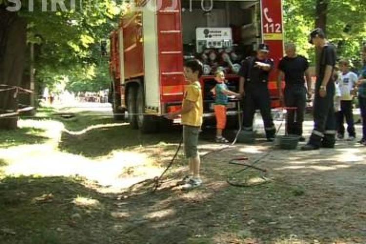 Oraselul copiilor a prins viata in Parcul Central VIDEO