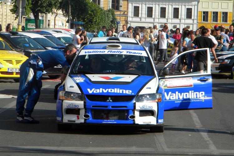 Raliul Clujului: Startul a fost dat in Piata Unirii VIDEO si FOTO