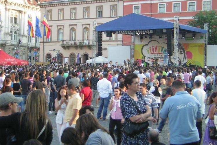 ZILELE CLUJULUI: Mihai Constantinescu si Gabriel Dorobantu canta miercuri in Piata Unirii. Vezi programul!