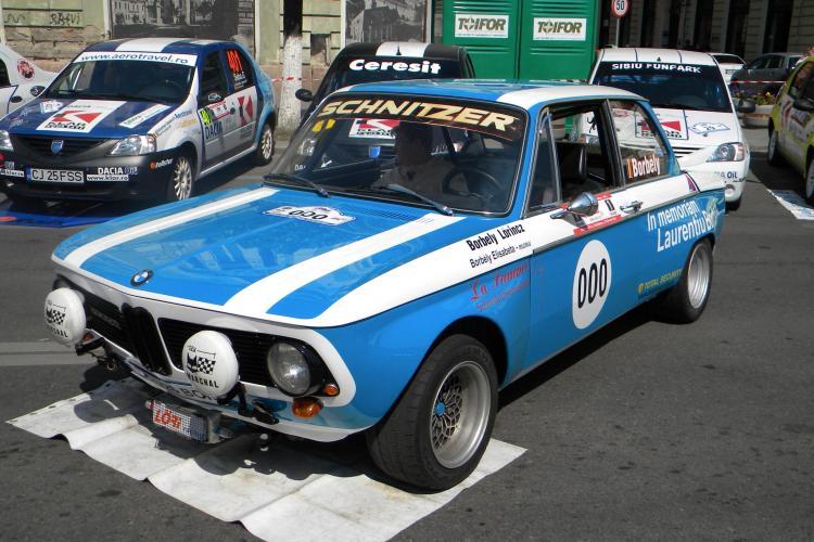 """Un BMW din '68, """"bijuteria"""" auto de la Raliul Clujului! Masina costa 50.000 de euro VIDEO si FOTO"""
