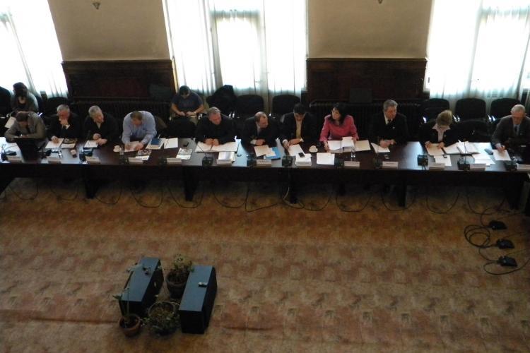 Consilierii judeteni UDMR au protestat la Consiliul Judetean Cluj fata de amplasarea placutei lui Nicolae Iorga in fata statuii lui Matei Corvin