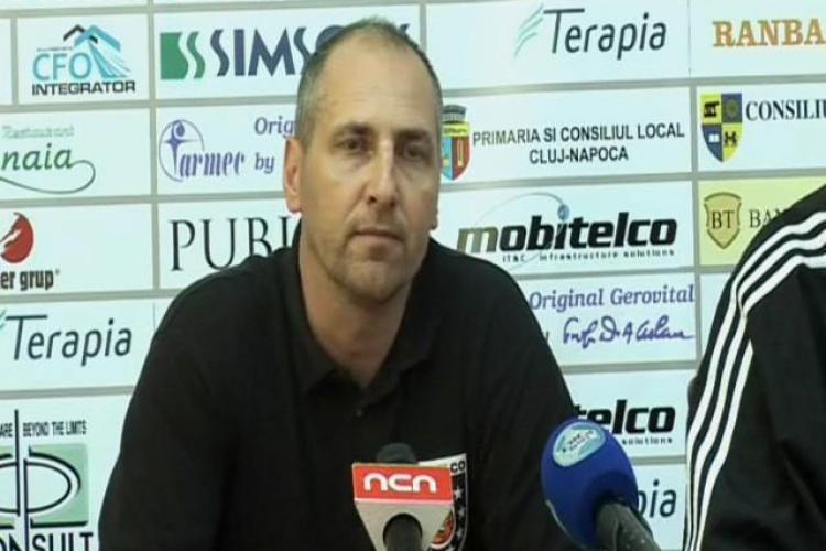 Antrenorul echipei U Mobitelco, Marcel Tenter:  Am avut o zi cu un atac extrem de slab