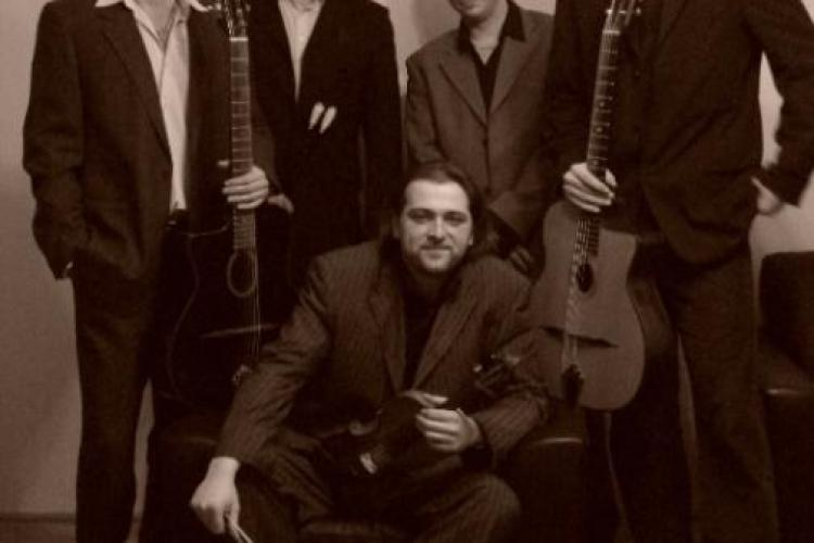 Concert de gipsy jazz la Cluj, in cadrul International Romani Art Festival