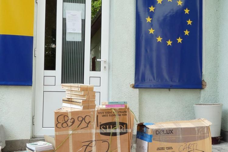 Ziua PDL, sarbatorita la Cluj printr-o actiune de donare de carte FOTO
