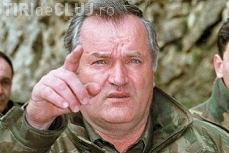 Fostul lider militar sarb Ratko Mladici a fost arestat intr-o localitate foarte aproape de granita cu Romania