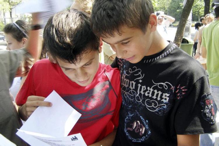 In judetul Cluj, numarul locurilor la admiterea in liceu, in clasa a IX-a, e cu 200 mai mare decat cel al elevilor de clasa a VIII-a