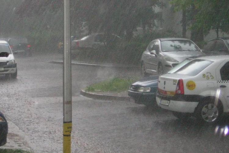 Vremea la Cluj: De miercuri revin ploile, iar maximele nu vor trece de 20 de grade Celsius