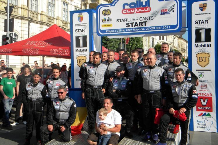 RALIUL CLUJULUI: Vali Porcisteanu a castigat Raliul Clujului in ultima proba speciala. VEZI clasamentul final
