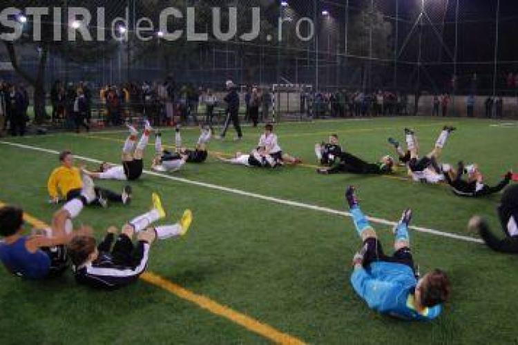 Juniorii Universitatii Cluj au castigat Cupa Hagi la fotbal