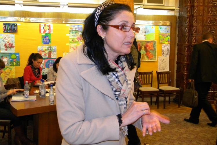 Consilierul local PNL, Steluta Cataniciu, a atacat un avocat in sala de judecata de la Curtea de Apel Cluj VEZI motivul