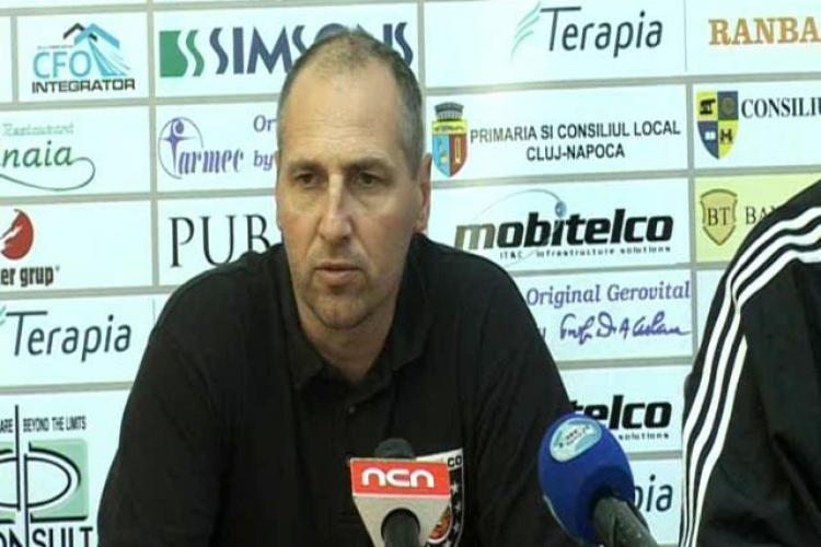 Antrenorul echipei U Mobitelco, Marcel Tenter: Vom incerca sa etalam cel mai bun joc pe care il putem face