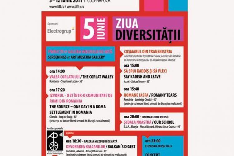 TIFF CLUJ: Ziua Diversitatii in 5 iunie