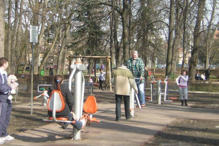 Primaria monteaza aparate de fitness in toate cartierele Clujului. Vezi in ce zone!