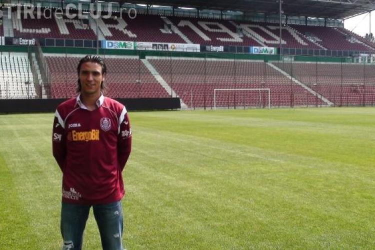 Portughezul Camora a semnat un contract cu CFR Cluj