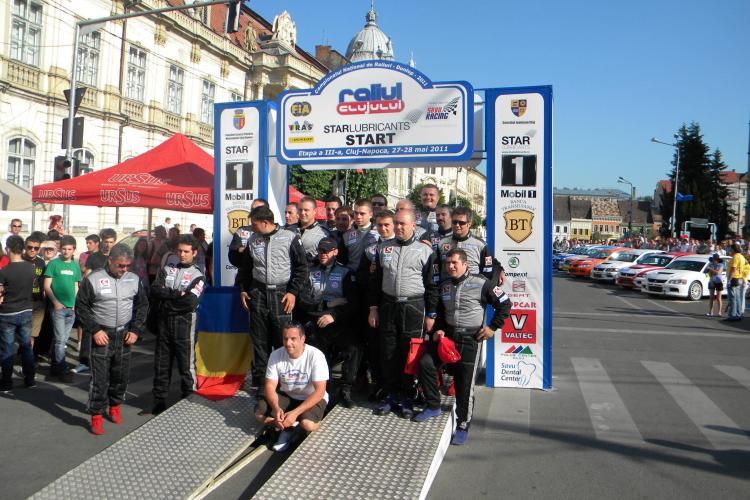 Raliul Clujului: Marco Tempestini a castigat Superspeciala Polus. VEZI programul zilei de sambata