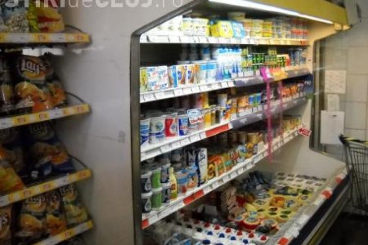 Produse Napolact, Danone, Dorna, Albalact si Muller cu probleme in magazinele din Cluj