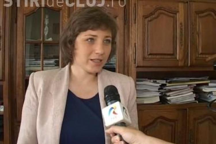 Fekete Emoke, vicepresedintele Consiliului Judetean Cluj: Placuta lui Iorga a fost amplasata ilegal - VIDEO