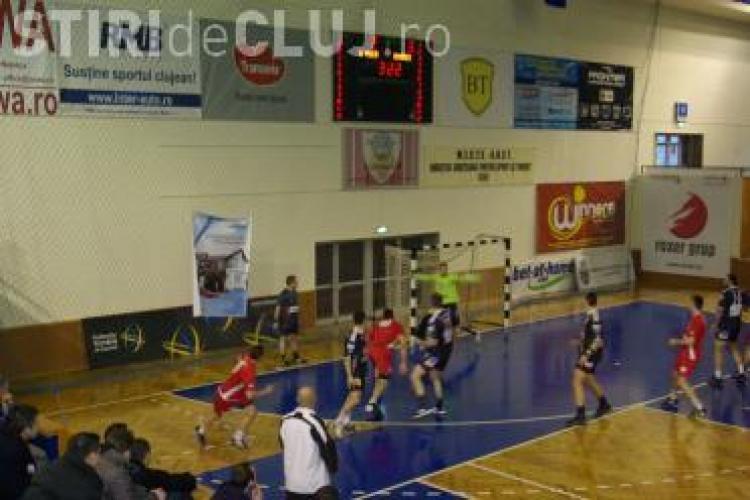 U Transilvania Cluj s-a calificat in semifinala Cupei Romaniei la handbal masculin