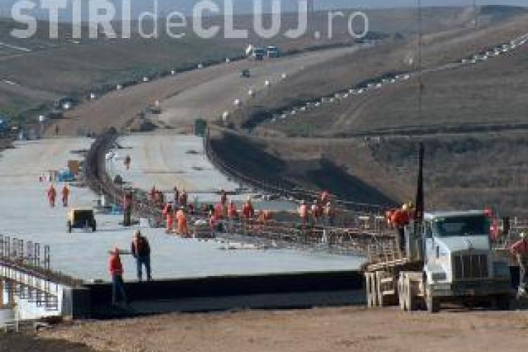 Autostrada Transilvania: 52 de kilometri in 7 ani. Daca ritmul se mentine, va fi gata peste 50 de ani