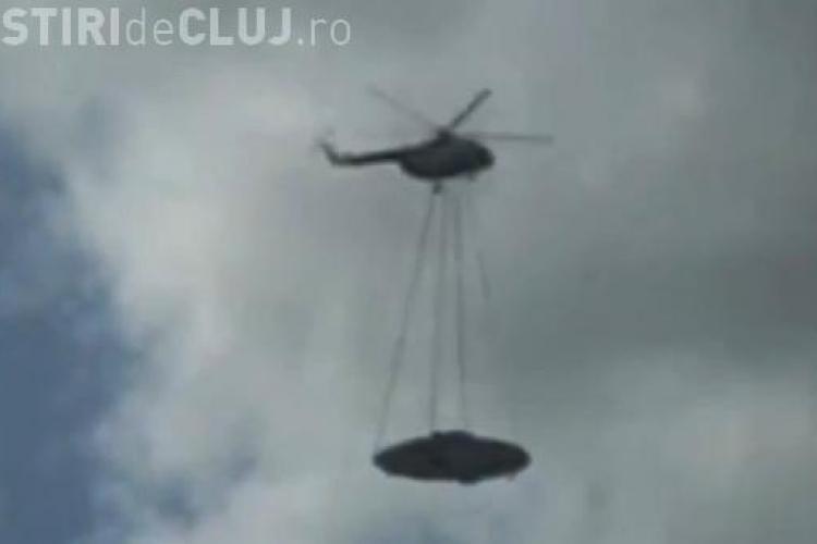 OZN carat de un elicopter rusesc! VEZI VIDEO