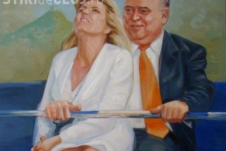 Udrea, pictata in bratele lui Pinalti VEZI FOTO