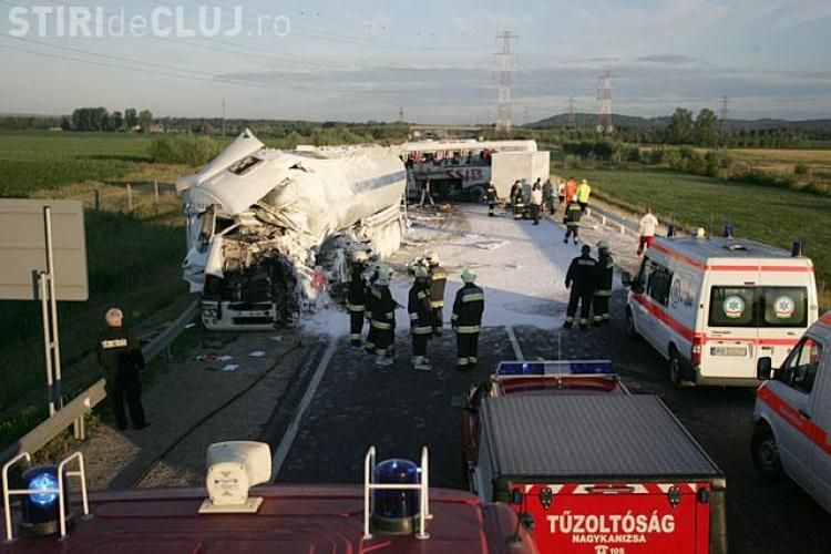 Accident de autocar in Ungaria! Patru romani au murit si 7 persoane sunt ranite grav