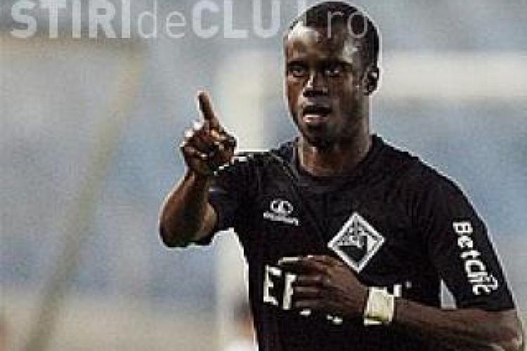 Senegalezul Modou Sougou: Am venit sa fiu campion cu CFR Cluj