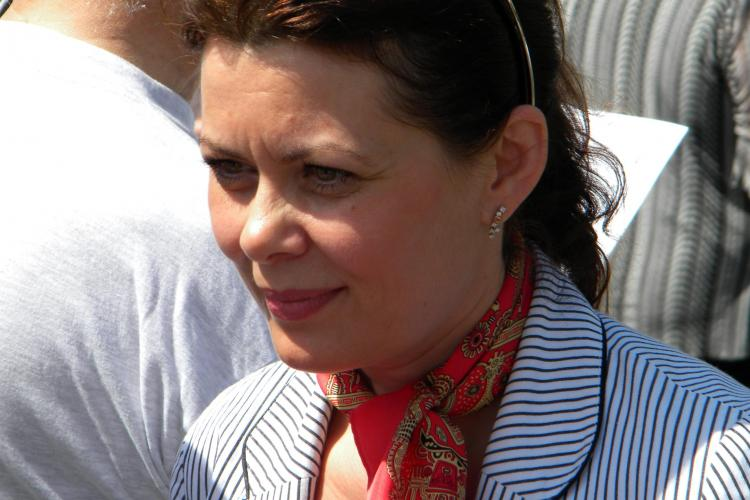 Are si PSD Cluj o Elena? Aurelia Cristea, satena din PSD, a sarit la gatul lui Emil Boc VIDEO si FOTO