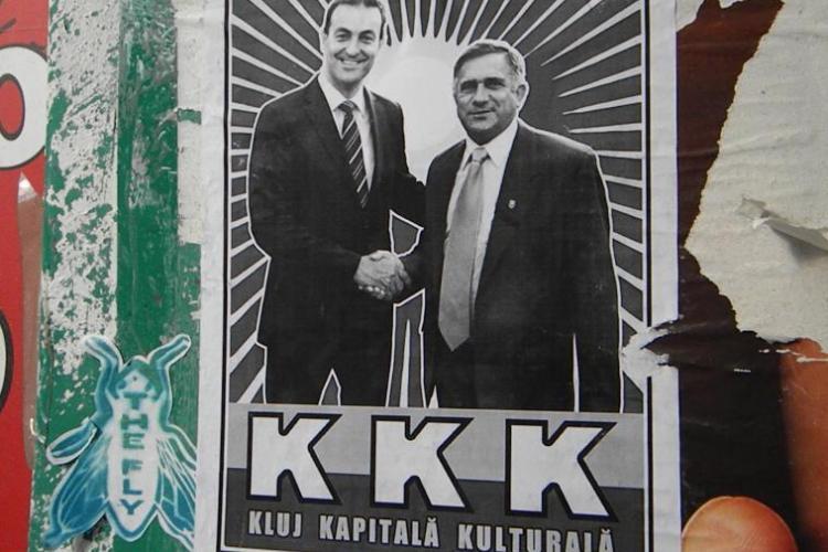 "PDL Cluj despre afisele care il ataca pe primarul Sorin Apostu: ""Creeaza tensiuni in randul comunitatii clujene"""