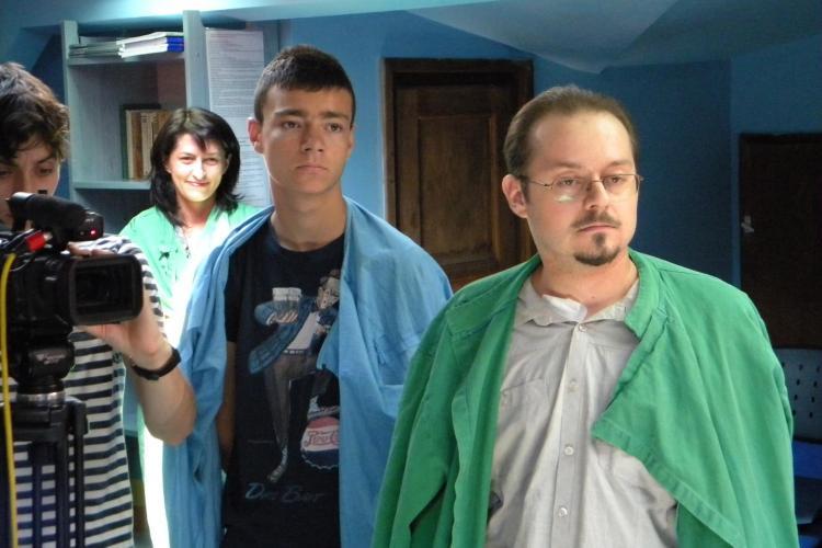 Rinichii politistului din Oradea salveaza doua vieti la Cluj! Medicii trebuie sa aleaga din cinci pacienti - VIDEO